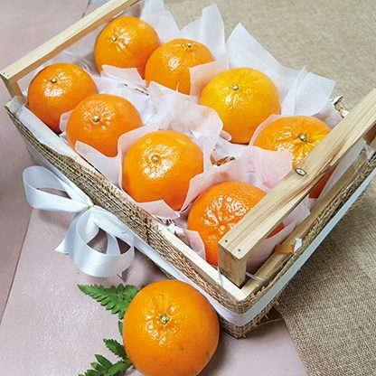 กระเช้าผลไม้ประเภท ส้ม