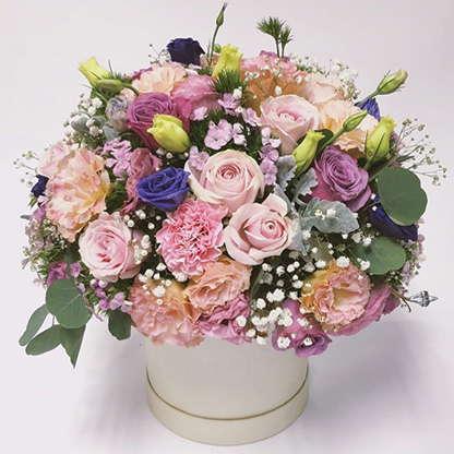 """กล่องดอกไม้วาเลนไทน์ """"Lucinda"""""""