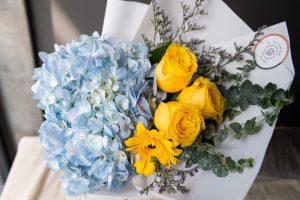 ช่อดอกไฮเดรนเยีย รับปริญญา ปี 2020
