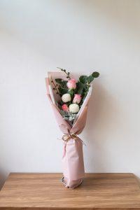 ช่อดอกกุหลาบ เล็กกระทัดรัด รับปริญญา ปี 2020