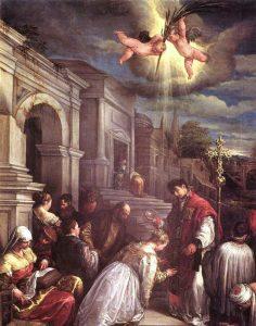 วาเลนตินุส นักบุญชาวโรมันที่มีความศรัทธาในพระคริสต์เป็นอย่างมาก