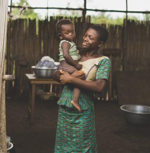 แม่ชาวเอธิโอเปีย