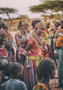 แม่ชาวเคนย่า